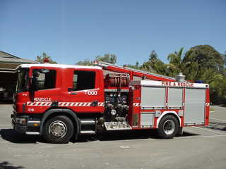 Scania Midship Medium Pumper for FESA